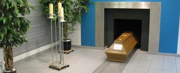 Krematorium auf dem Friedhof Römerschanze