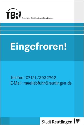 Blaue Karte - Eingefroren!