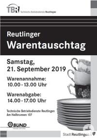 Plakat Warentauschtag