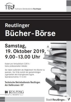 Plakat Bücherbörse